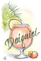 "Drink up...Daiquiri by Jay Throckmorton - 9"" x 12"""