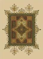 World Bazaar Pattern (WG) I Framed Print