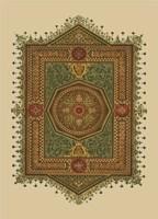 World Bazaar Pattern (WG) II Framed Print