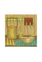 Willow Tea Pot Framed Print