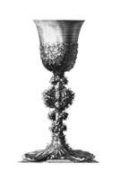 Black & White Goblet II (SC) Fine Art Print