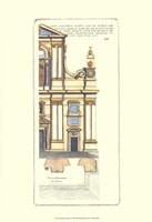 Classical Faade I Fine Art Print