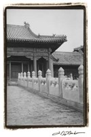 Forbidden City Walk, Beijing Fine Art Print