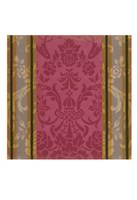 """Divine Damask III by Vision Studio - 12"""" x 12"""""""