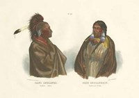 "Saki Indianer by Chariklia Zarris - 19"" x 13"""