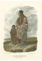 """Dacota Indianerin by Chariklia Zarris - 13"""" x 19"""""""