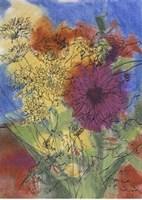 Floral Fantasy IV Fine Art Print