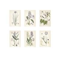 """Purple Botanicals by Chariklia Zarris - 17"""" x 16"""""""