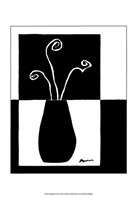 "Minimalist Flower in Vase I by Jennifer Goldberger - 11"" x 14"""