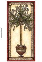 "Red Bordered Palm I by Chariklia Zarris - 13"" x 19"""
