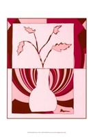 """Minimalist Flowers in Pink I by Jennifer Goldberger - 13"""" x 19"""""""