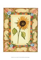 "French Country Sunflower II by Jennifer Goldberger - 11"" x 14"""