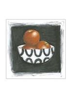 "Apples in Bowl by Chariklia Zarris - 8"" x 8"""