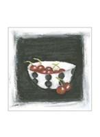 "Cherries in Bowl by Chariklia Zarris - 10"" x 13"""