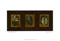 "Block Leaf Panel II by Nancy Slocum - 15"" x 7"""