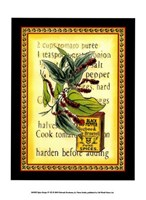 Spice Recipe IV Fine Art Print