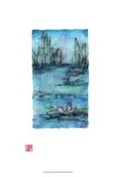 Water Garden II Framed Print