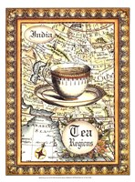 "Exotic Tea (D) I by Chariklia Zarris - 10"" x 13"""