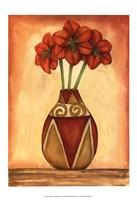 """Southwest Amaryllis (H) I by Jennifer Goldberger - 13"""" x 19"""""""