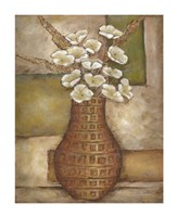 "Cubed Floral Study II by Chariklia Zarris - 11"" x 14"""