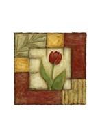 """Flower Montage II by Chariklia Zarris - 7"""" x 7"""" - $10.49"""