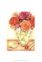 "Fresh Fruit & Flowers I (PT) by Megan Meagher - 13"" x 19"", FulcrumGallery.com brand"