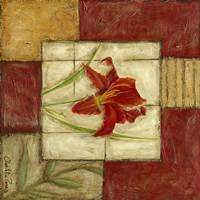 Flower Montage III by Chariklia Zarris - various sizes - $11.49