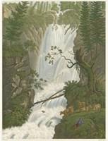 Tranquil Cascade I Fine Art Print