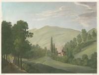 Tranquil Cascade III Fine Art Print