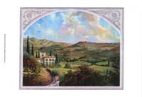 Tuscan View Fine Art Print