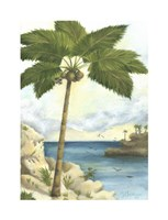 "Tropical Interlude II by Jennifer Goldberger - 10"" x 14"""