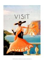 Sunny Riviera Fine Art Print