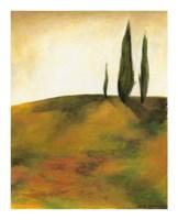 """Study at Sunset I by Jennifer Goldberger - 12"""" x 15"""""""