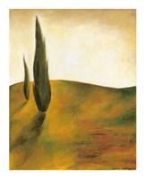 """Study at Sunset II by Jennifer Goldberger - 12"""" x 15"""""""