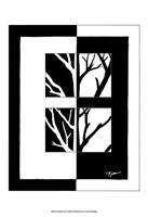 Minimalist Tree II Fine Art Print