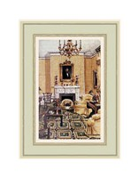 Lincoln Sitting Room in Blair House Fine Art Print