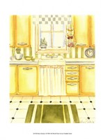 Retro Kitchen I Fine Art Print