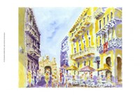 Street Scene, Puerto Rico Fine Art Print
