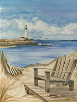 Lighthouse View I Fine Art Print