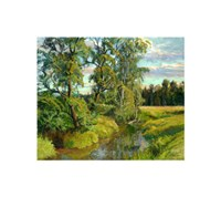 "Sunny Evening by Igor Raevitch - 24"" x 20"" - $80.99"