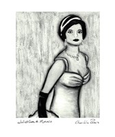 "Juliet goes to Monaco by Chariklia Zarris - 10"" x 12"""