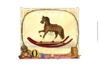 Rocking Horse (D) I Fine Art Print
