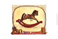 Rocking Horse (D) II Fine Art Print