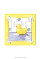 Rubber Duck (D) II Framed Print