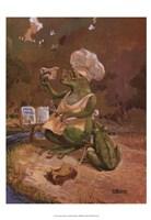 Frog Cookies Fine Art Print