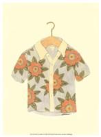 "Surf's up Shirt I by Jennifer Goldberger - 10"" x 13"""