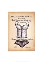 "Chariklia's Lingerie II by Chariklia Zarris - 13"" x 19"""