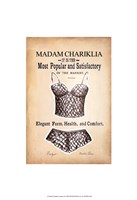 "Chariklia's Lingerie III by Chariklia Zarris - 13"" x 19"""