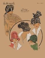 Elegant Chapeau I by Chariklia Zarris - various sizes