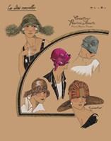 Elegant Chapeau II by Chariklia Zarris - various sizes